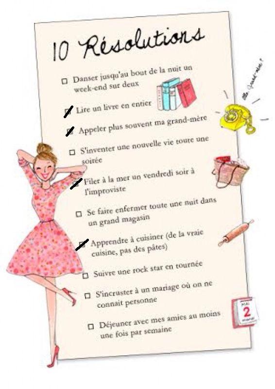 Célèbre Vie – Mes résolutions 2014 et comment les tenir ! – Dress-ing  LC36