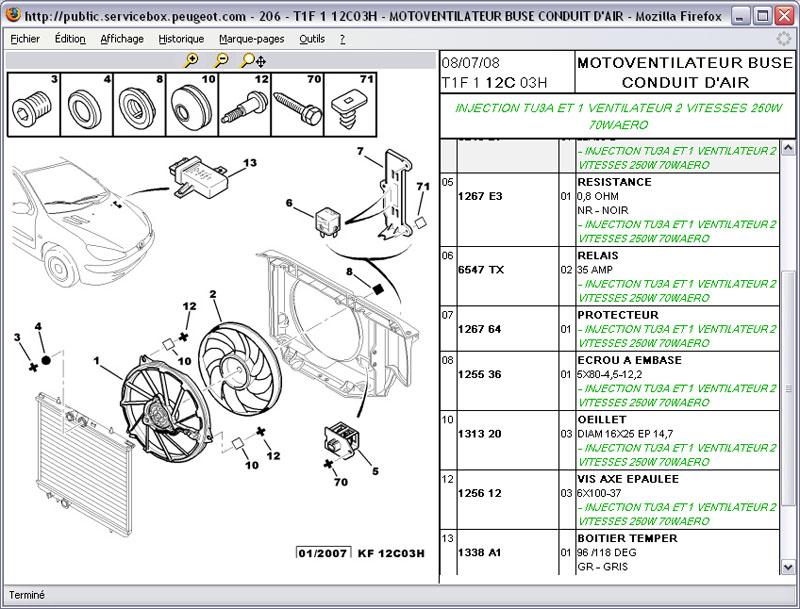 206 ess an 01 probl me de chauffe moteur. Black Bedroom Furniture Sets. Home Design Ideas