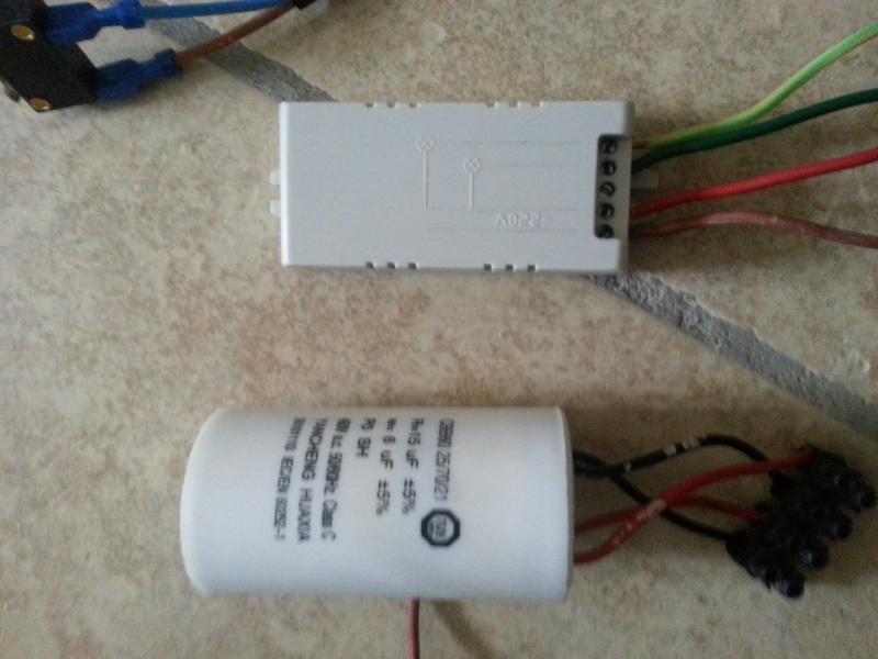 Mettre une telecommande radio sur un treuil avec commande for Comment verifier un condensateur