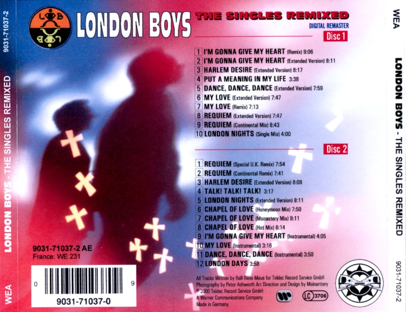 London Boys - The Singles Remixed