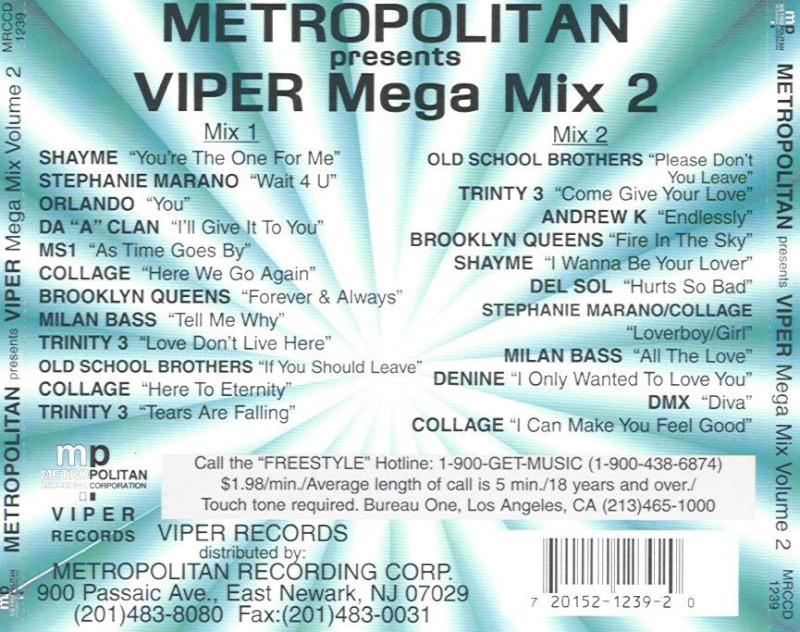 Metropolitan Viper's Mega Mix Vol. 2