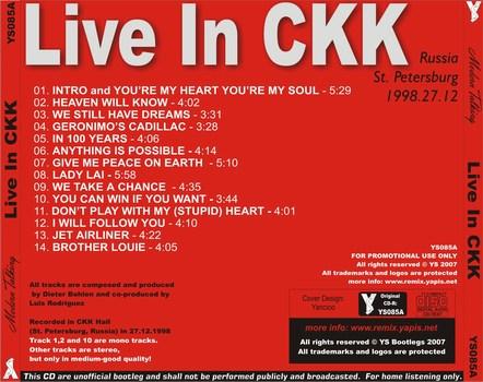 Modern Talkinig - Live In CKK