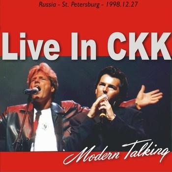 Cover Album of Modern Talkinig - Live In CKK