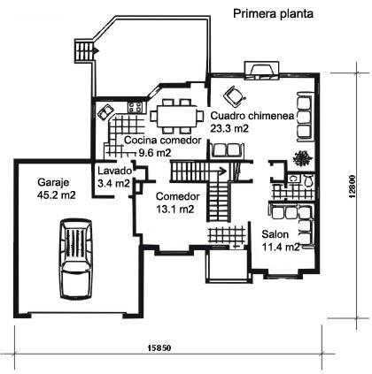 Pin planos de casas modernas yfachadas libros com for Libros de planos arquitectonicos