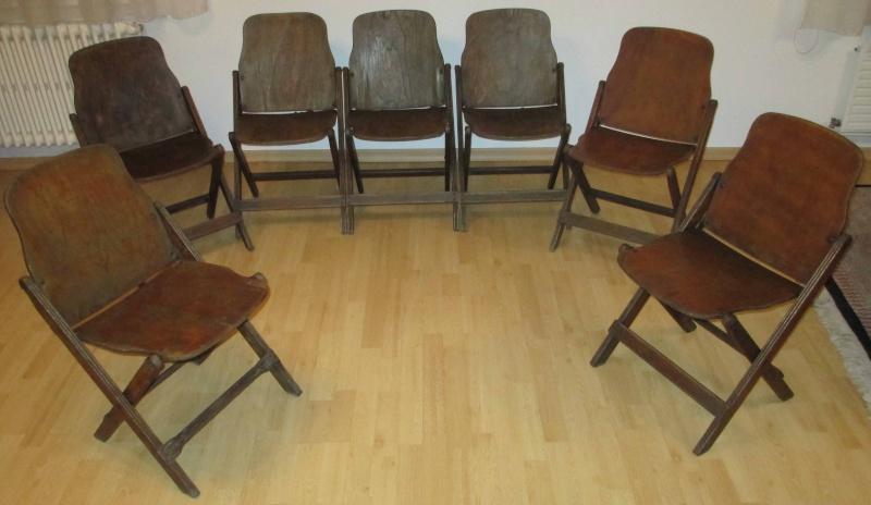 7 chaises us pliantes. Black Bedroom Furniture Sets. Home Design Ideas