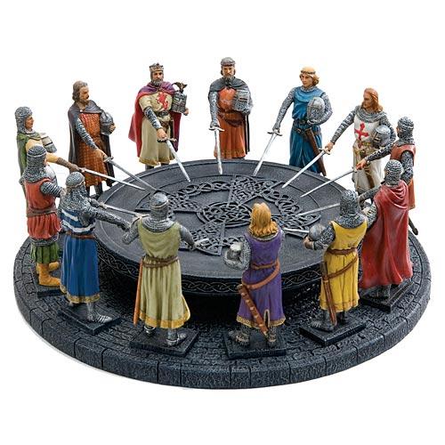 Les etains du graal - Les 12 principaux chevaliers de la table ronde ...