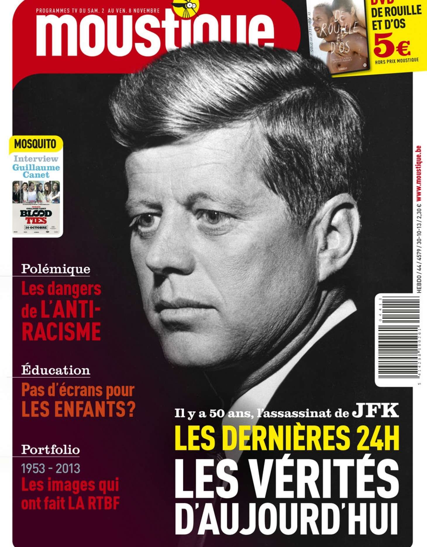 Il y a 50 ans, l'assassinat de JFK