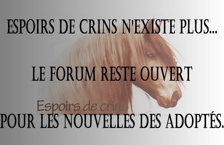 Espoirs de Crins