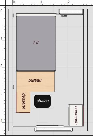 chambre ado bordeau et gris fonc. Black Bedroom Furniture Sets. Home Design Ideas