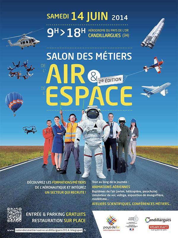Salon Métiers de l'Air & Espace,Salon des métiers de l'Air et L'Espace à Candillargues 2014, French Airshow 2014