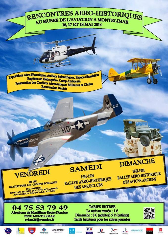 Musée Européen de l'Aviation de Chasse, Aero-Historique Montelimar 2014,French Airshow 2014