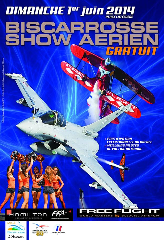 Free Flight World Masters 2014,Free Flight World Masters Biscarrosse,Show aerien Biscarrosse, French Airshow 2014