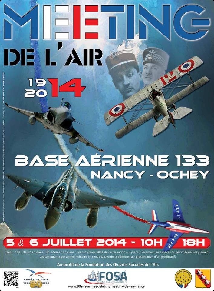 Meeting Aerien BA-133 Nancy-Ochey 2014, BA-133 MNA 2014 , Meeting Aerien 2014,Manifestation Aerienne 2014, French Airshow 2014