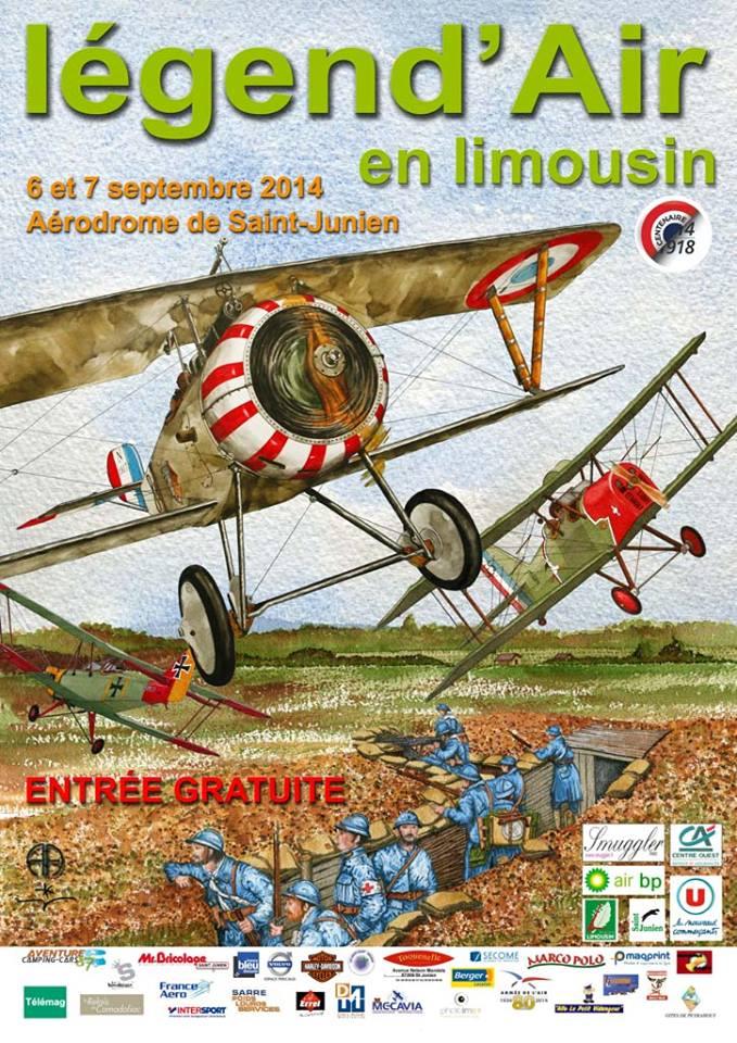 Légend'Air en Limousin , Meeting Aerien 2014,Manifestation Aerienne 2014, French Airshow 2014