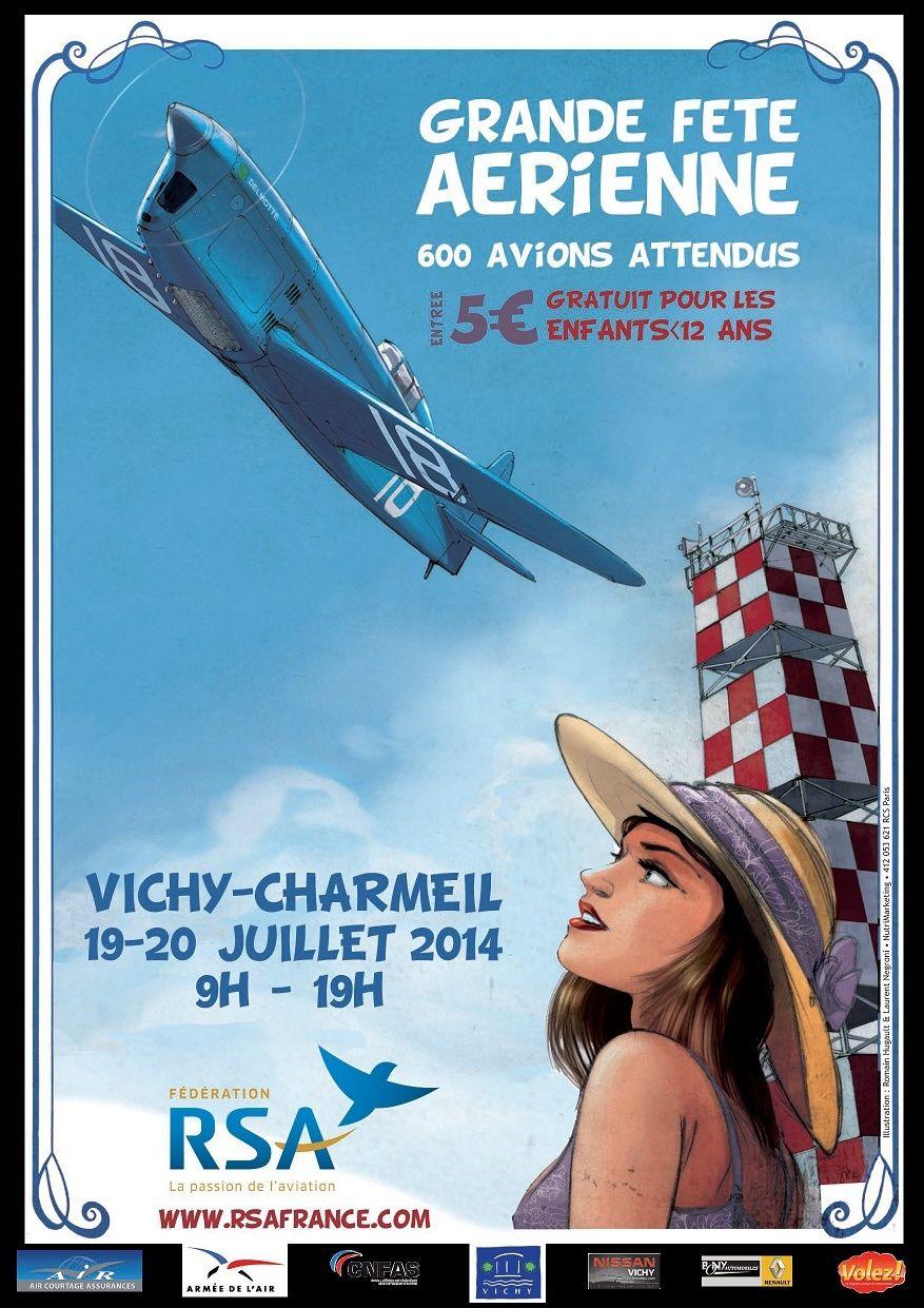 EUROFLY'IN RSA VICHY 2014,EUROFLY'IN RSA VICHY, , Fly-in de France 2014,Manifestation Aerienne 2014, French Airshow 2014