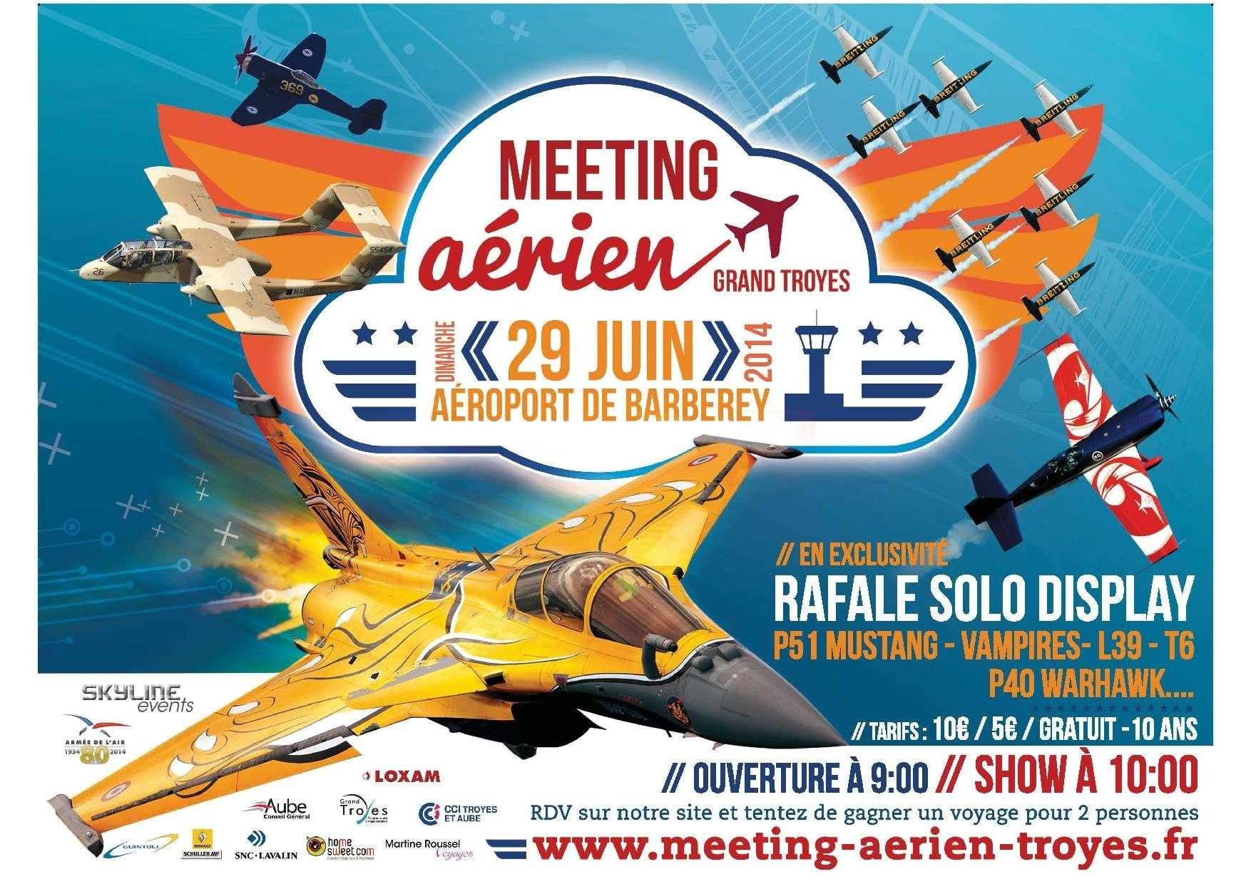 Meeting Aerien du Grand Troyes 2014,Skyline Events 2014, Aeroport de Troyes-Barberey ,Meeting Aerien 2014,Manifestation Aerienne 2014,www.meeting-aerien-troyes.fr