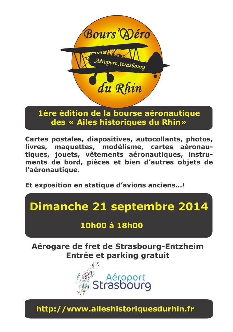 Bours'Aéro du Rhin 2014,fly in Ailes historiques du Rhin,Strasbourg-Entzheim
