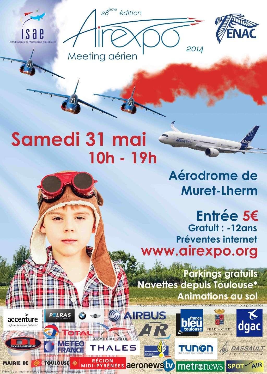 Airexpo 2014,'aérodrome de Muret-Lherm 2014 , Meeting Aerien 2014,Manifestation Aerienne 2014, French Airshow 2014