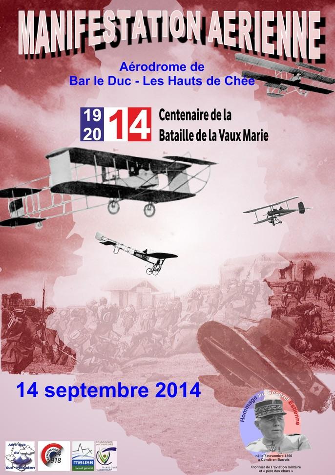 aérodrome de Bar-le-Duc /Les Hauts de Chée,Centenaire de la Vaux Marie,meeting14septembre, Meeting Aerien 2014,Manifestation Aerienne 2014, French Airshow 2014