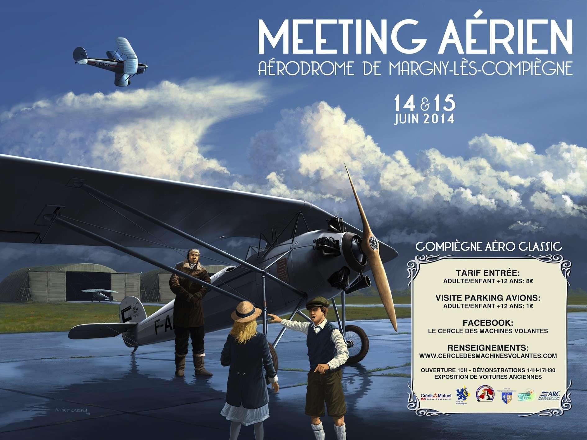 Compiègne Aéro-Classic 2014, Meeting Aerien 2014,Manifestation Aerienne 2014, French Airshow 2014