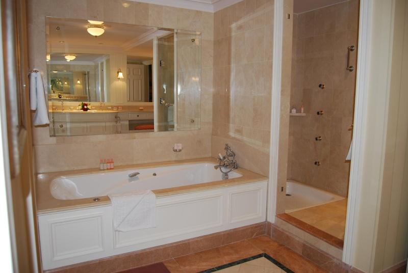 baignoire dans douche la douche manque de confort et la