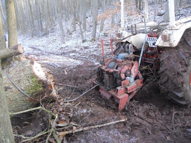 treuil forestier werner