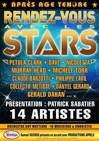 affiche rendez-vous avec les stars