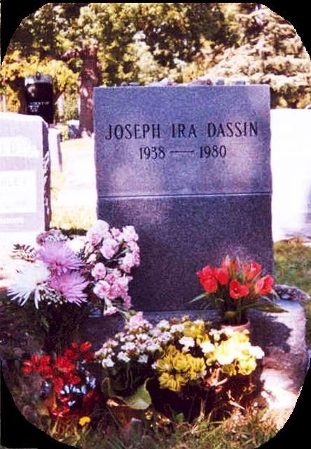 Joe Dassin cimetière Juif