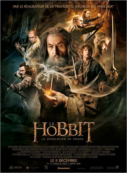 """Le Hobbit """"la désolationdeSmaug"""" sortie le 11 décembre 2013"""
