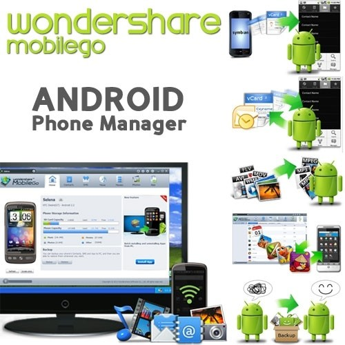 Wondershare MobileGo for Android 4.4.0.263 [Multi] - Administra tus dispositivos Android desde tu PC
