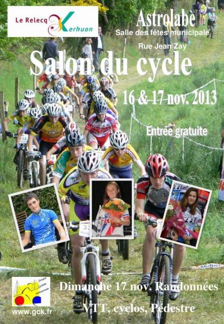 Rando et salon de cycle à Kerhuon sam 17 et 18 novembre kerhuo13