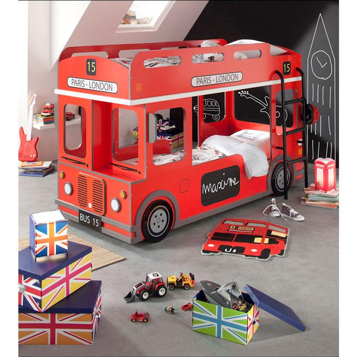 lit superpos london bus. Black Bedroom Furniture Sets. Home Design Ideas