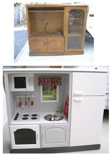 Id es de recyclage et relooking vieux meubles - Transformer un vieux meuble ...