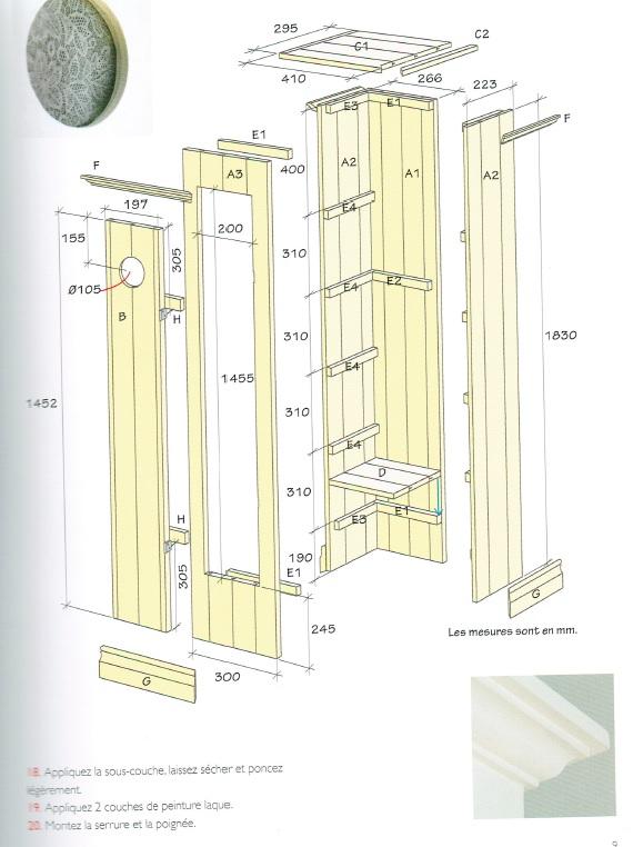 les meubles en bois fabriquer soi m me. Black Bedroom Furniture Sets. Home Design Ideas