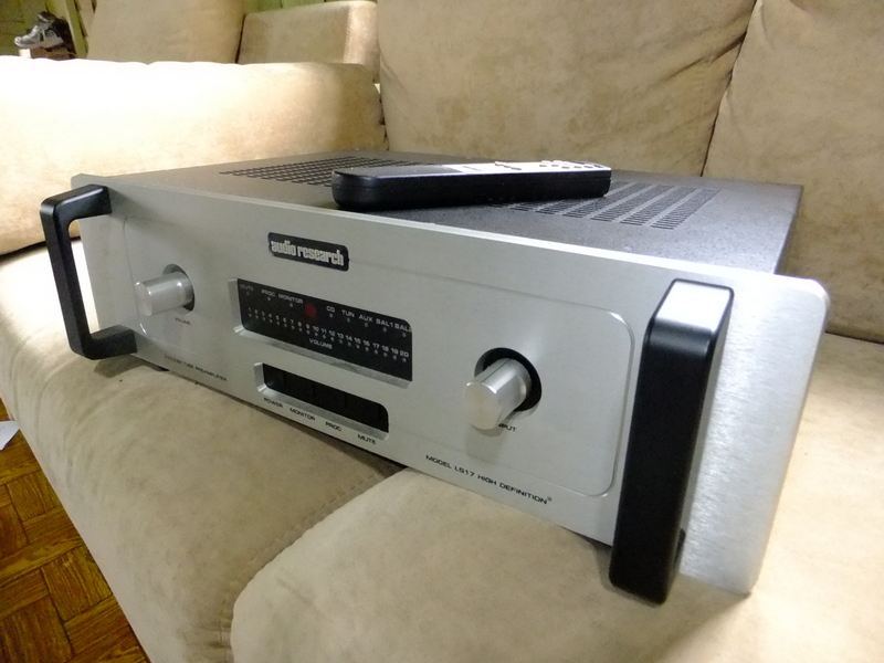 audio research ls17 pre amplifier used sold. Black Bedroom Furniture Sets. Home Design Ideas