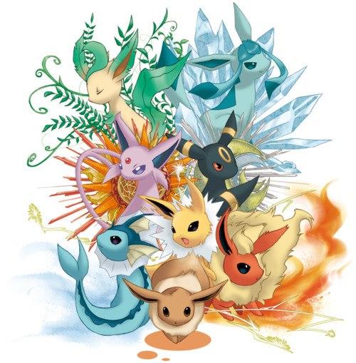 L 39 quipe evoli - Famille evoli pokemon ...