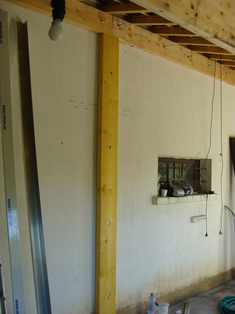 question comment fixer une muraill re dans des parpaings. Black Bedroom Furniture Sets. Home Design Ideas