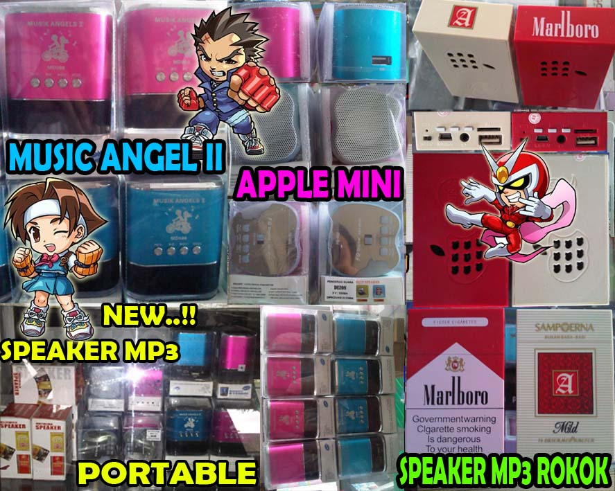NEW SPEAKER MP3 PORTABLE