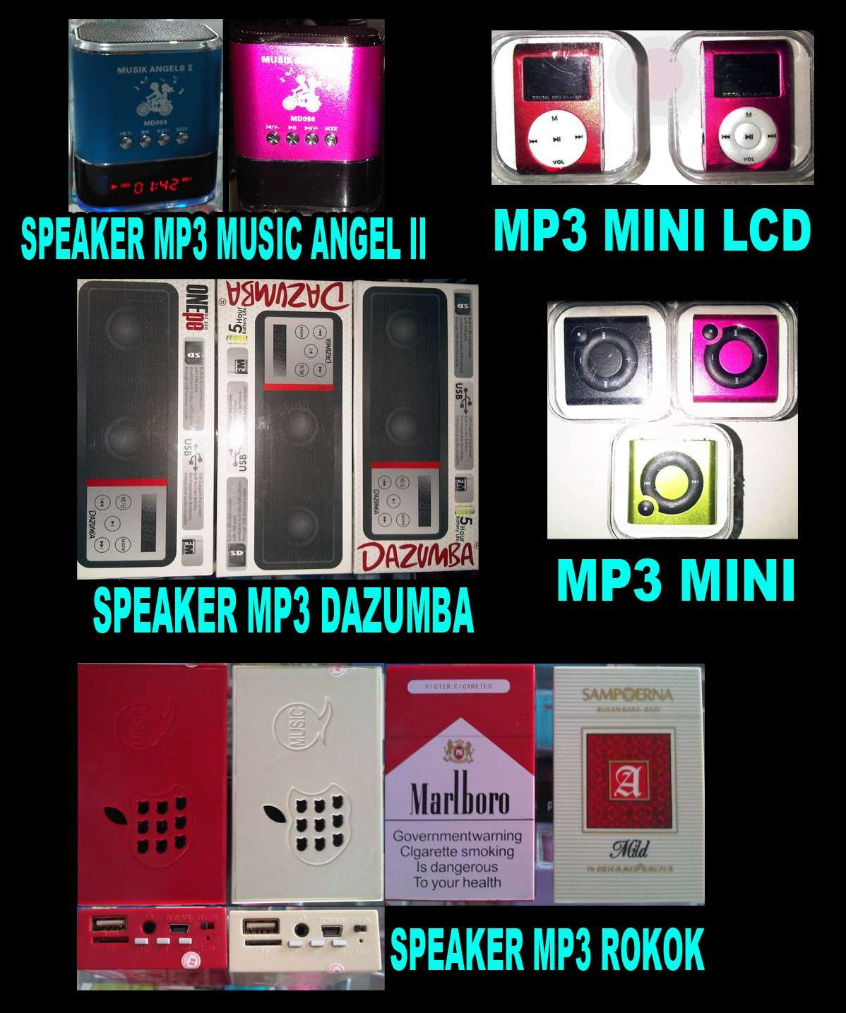 MP3 MINI / MP3 PORTABLE SPEAKER
