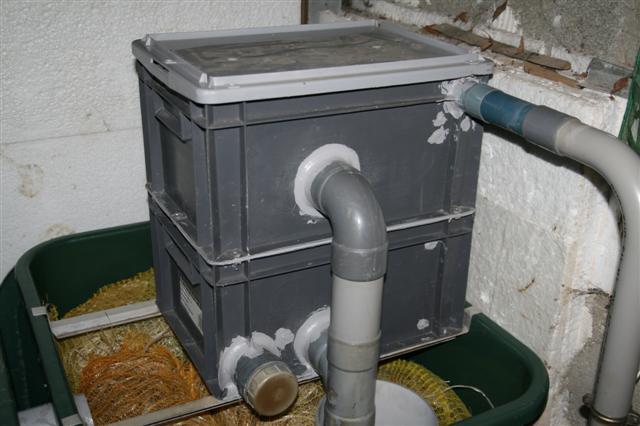 Bassin ext rieur - Fabriquer un filtre pour bassin ...