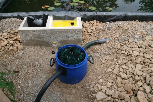 Bassin ext rieur for Filtre etang