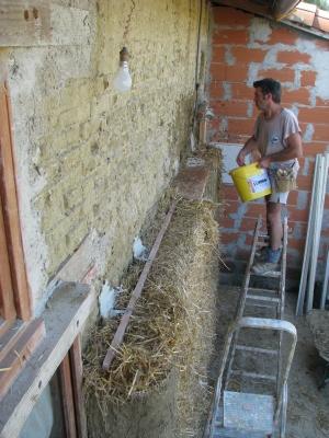 Isolation ext rieure mur en pierre - Isolation mur brique ...