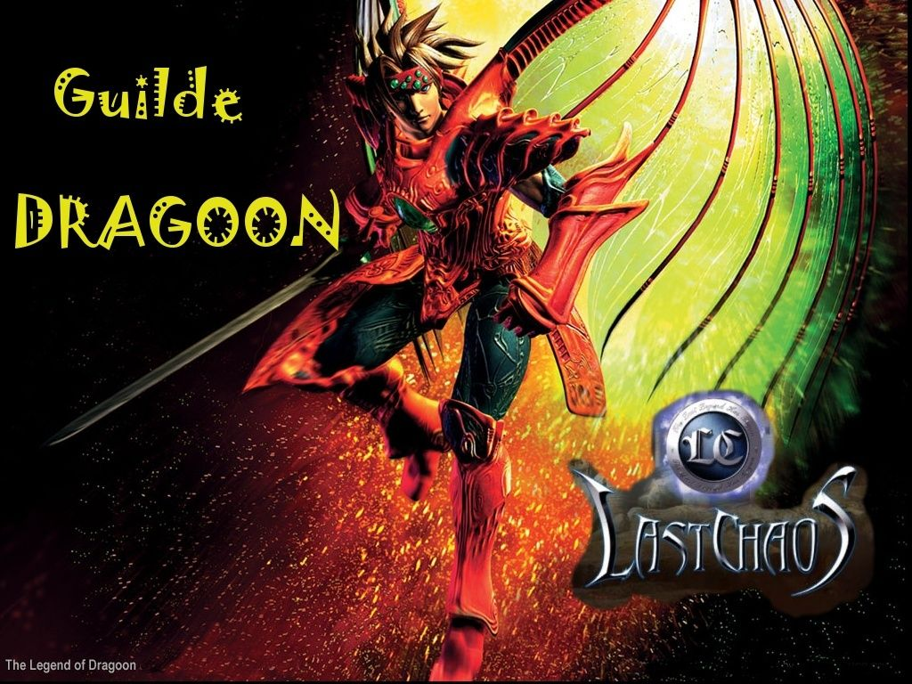 LA LEGENDE DES DRAGOON