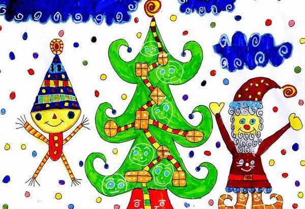 Dessine-moi un Noël dans LES 4 SAISONS concou10