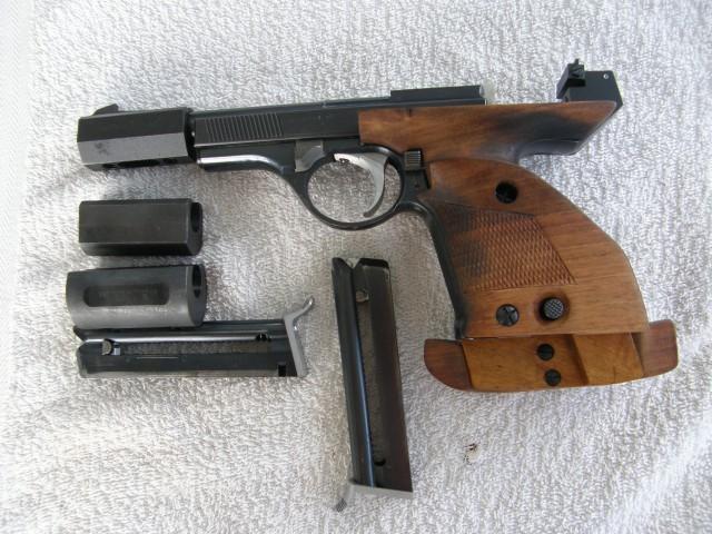 pistolet match 22lr occasion