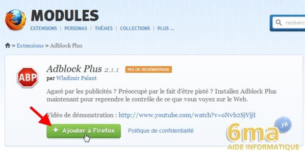 Adblock plus 2 5 1 comment bloquer les fen tres popup for Bloquer fenetre publicitaire chrome