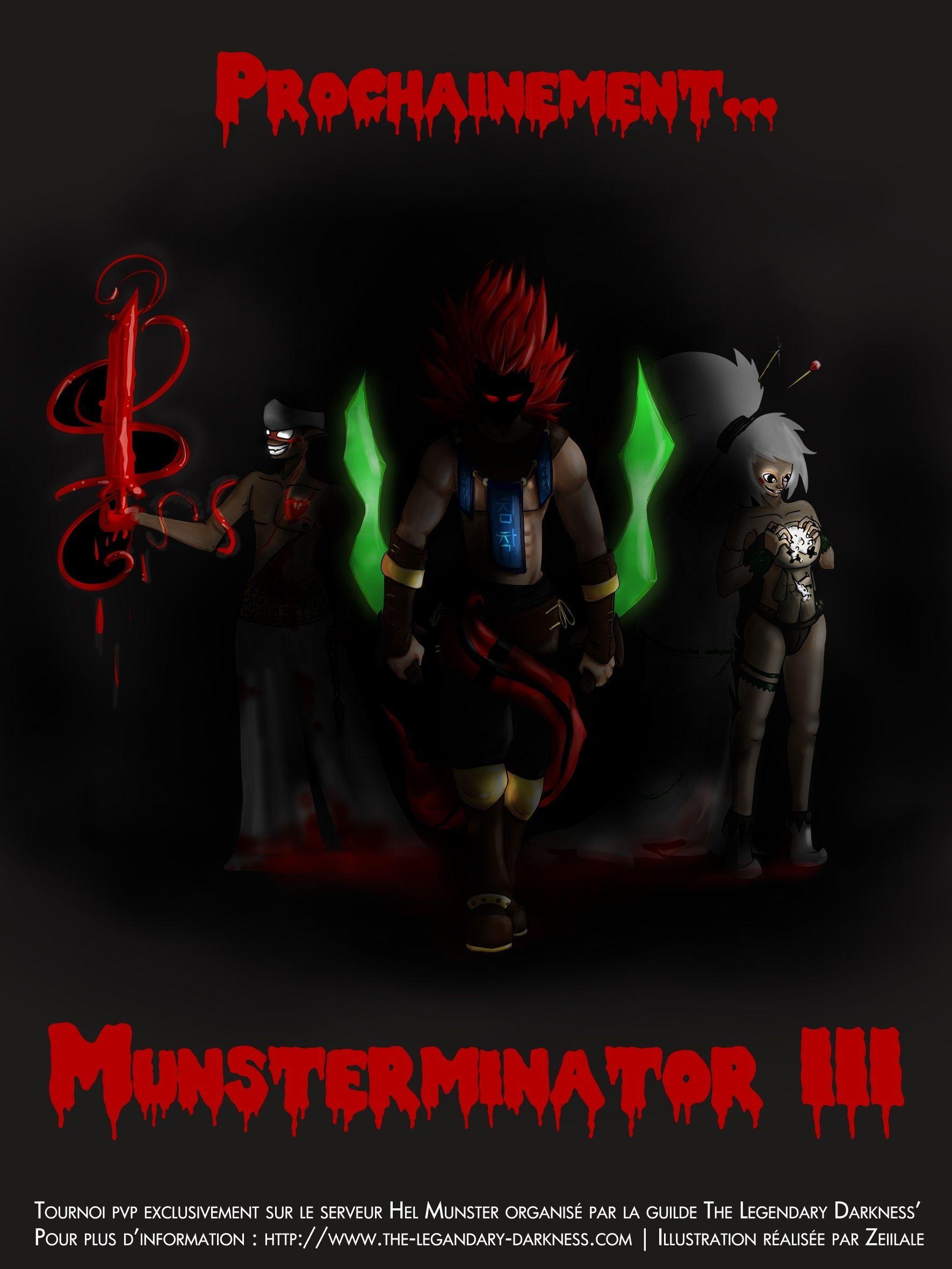 affiche Munsterminator III