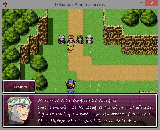 Pokémon Amitiés Sincères , an indie Visual Novel game for