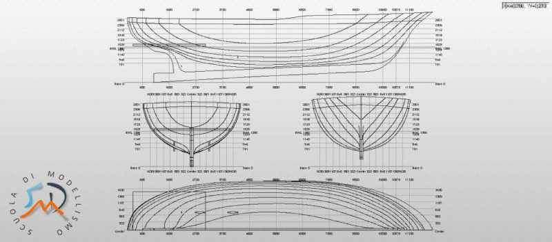 S luigina motobarca da diporto by etabeta for Piani di costruzione del modello
