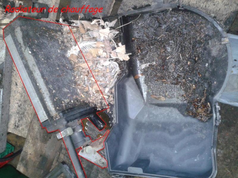 dépose et démontage complet d'un bloc de chauffage - Fuite Robinet Radiateur Chauffage